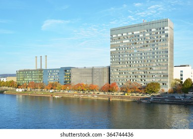 BASEL, SWITZERLAND,?? NOVEMBER 2, 2014:  Novartis International is a Swiss multinational pharmaceutical company based in Basel, Switzerland, ranking number one in sales among the world-wide industry
