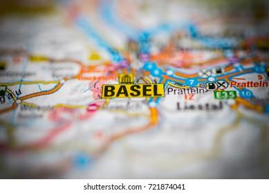 Basel on map.
