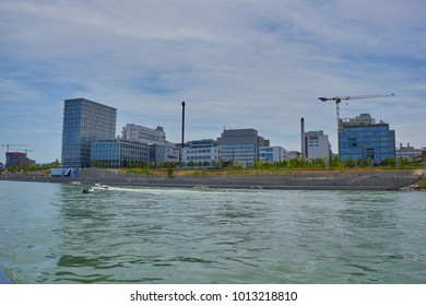 Basel, Switzerland - 25 January 2018: Novartis International AG is a Swiss multinational pharmaceutical company based in Basel, Switzerland.