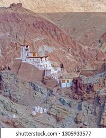 Basgo Monastry at, ladakh India