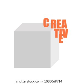 A basic illustration giving meaning to a creative block during production times.