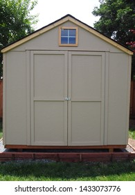 Basic Wooden Homeowner-Style Garden Shed