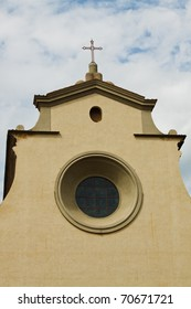 Basilic of Santa Maria del Santo Spirito in Florence Italy