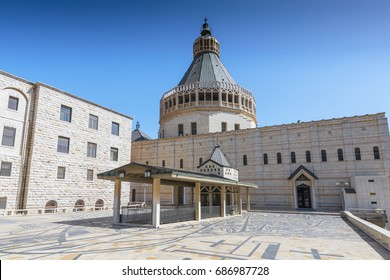 Basilica of Annunciation in Nazareth, Galilee, Israel.