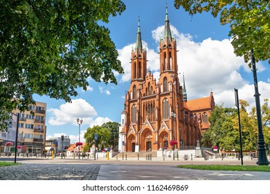 Basilica of the Assumption of the Blessed Virgin Mary in Bialystok, Podlaskie Voivodeship, Poland