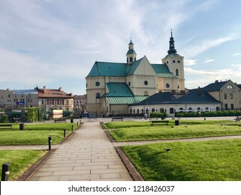 Basilica of the Assumption of the Blessed Virgin Mary in Rzeszow, Poland  .