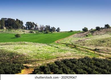 Basilica of the Beatitudes, Israel