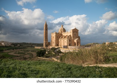 Basilica of the Blessed Virgin Of Ta' Pinu, Gozo Island, Malta, Europe