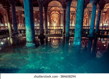 Basilica Cistern is the largest ancient underground cistern in Istanbul, which was used to store water in the past and is now a popular tourist attraction