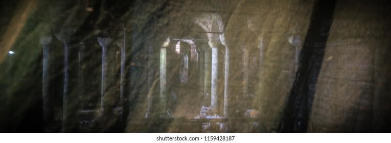 The Basilica Cistern (Yerebatan Sarayi), Istanbul, Turkey