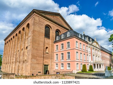 The Basilica of Constantine and the Electoral Palace in Trier - Rhineland-Palatinate, Germany