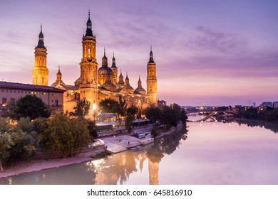Basilica de Nuestra Senora del Pilar in Zaragoza, Spain