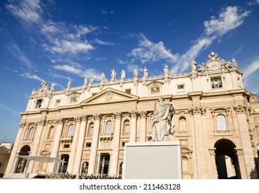 Basilica di San Pietro, Vatican, Rome, Italy
