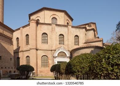 Basilica di San Vitale in Ravenna, Italy