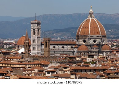 The Basilica di Santa Maria del Fiore (Basilica of Saint Mary of the Flower) is the main church of Florence, Italy.