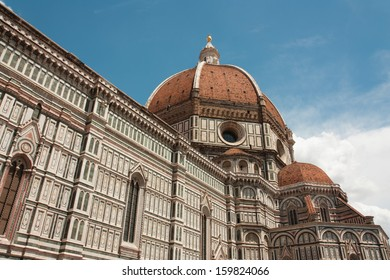 The Basilica di Santa Maria del Fiore (Basilica of Saint Mary of the Flower) is the main church of Florence, Italy. The basilica is one of Italy's largest churches.