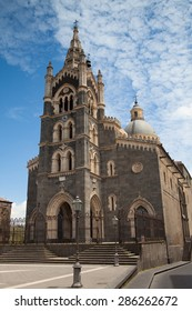 Basilica di Santa Maria in Randazzo, Sicily, Italy. It is a beautiful church adorned with stunning architecture and a magnificent interior.