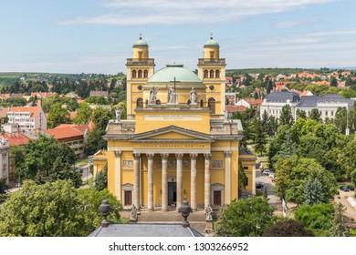 Basilica in Eger, Hungary