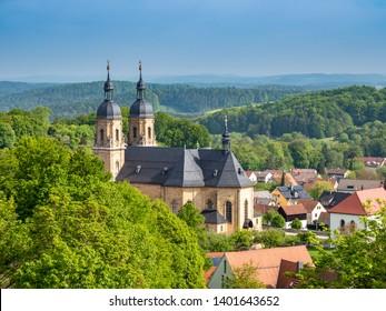 Basilica of Goessweinstein in the Franconian Switzerland