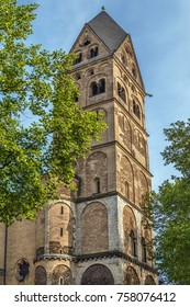 The Basilica of the Holy Apostles is a Romanesque church in Cologne, Germany