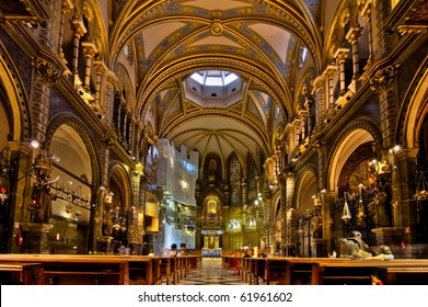 Basilica at the Montserrat Monastery