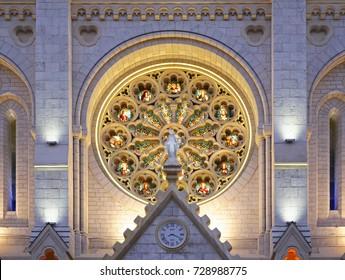 Basilica of Notre-Dame de Nice. France
