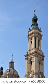 Basilica of Our Lady of the Pillar in Saragossa, Spain