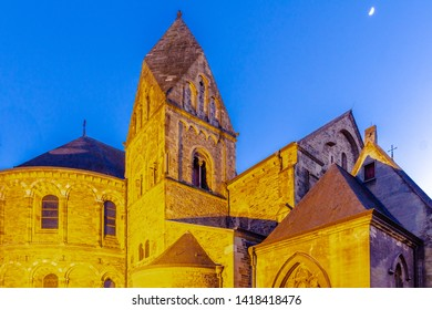 The Basilica of Our Lady  is a Romanesque church in the historic center of Maastricht first built within the roman settlement in the 5th century. The church is dedicated to Our Lady of the Assumption