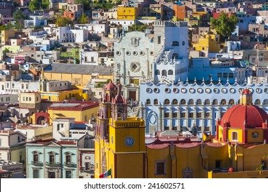 Basilica of Our Lady and University of Guanajuato, Mexico