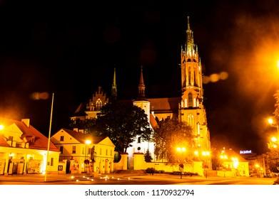 Basilica in Białystok, Poland