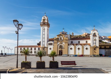 The Basilica of the Royal Marian Shrine of Our Lady of Candelaria, Tenerife, Canary Islands, Spain