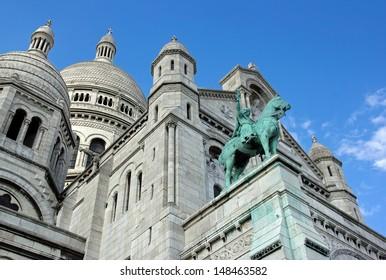 Basilica of the Sacred Heart, Sacr�© C��ur de Montmartre  (Paris France)