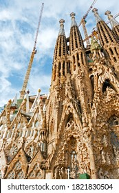 Basilica Sagrada Familia in Barcelona, Spain