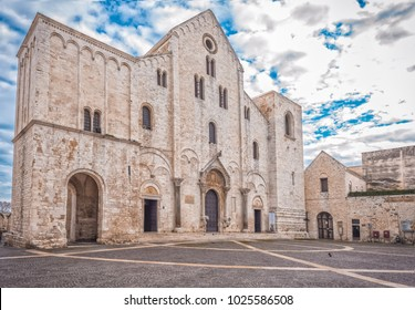 The Basilica of Saint Nicholas in Bari, Roman Catholic Church, Puglia, South Italy