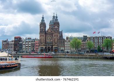 Basilica of Saint Nicholas (Sint Nicolaaskerk), Amsterdam, Netherlands