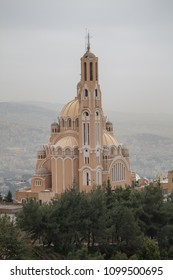 Basilica of Saint Paul, Harissa, Jounieh, Lebanon, Middle East