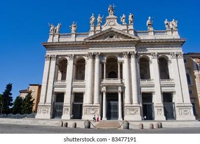 Basilica San Giovanni in Laterano, Rome, Italy