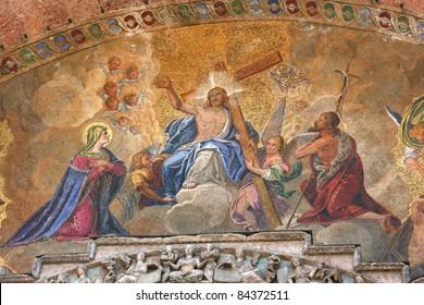 basilica of san marco, italy, venice, europe