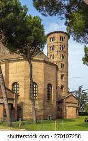 The Basilica of Sant' Apollinare in Classe is an important monument of Byzantine art near Ravenna, Italy.