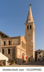 The Basilica of Sant'Eufemia in the town of Grado.
