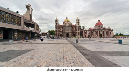 Basilica square of Our Lady of Guadalupe - Mexico city