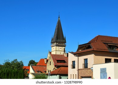 The Basilica of St. Giles in the Bardejov historical center