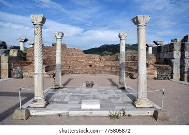 The Basilica of St. John was a basilica in Ephesus. It was constructed by Justinian I in the 6th century. It stands over the believed burial site of John the Apostle. It was modeled after the now lost