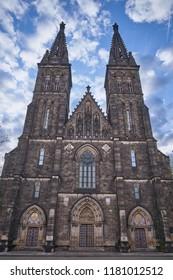 Basilica of St Peter and St Paul, Vysehrad, Prague