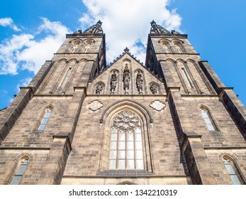 Basilica of St. Peter and Paul in Vysehrad, Prague, Czech Republic