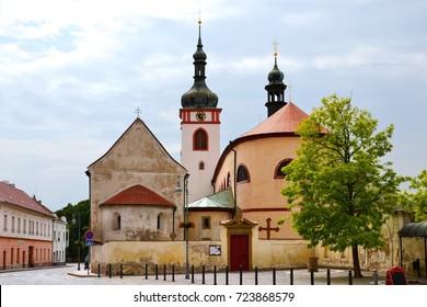 Basilica of st Wenceslaus in Stara Boleslav, Czech republic