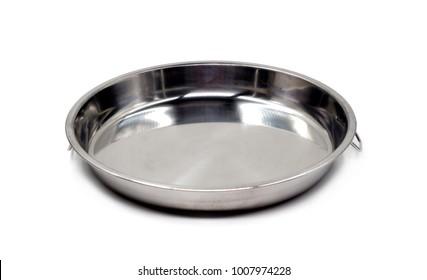 Basin on white background.