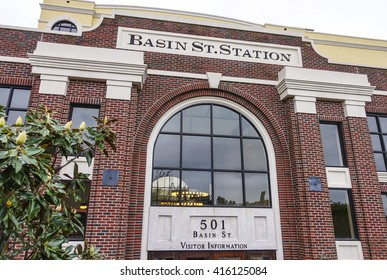 Basin St Station - Visitors Information Center of New Orleans - NEW ORLEANS, LOUISIANA - APRIL 18, 2016