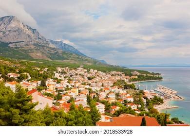 Baska Voda Dalmatia, Adriatic sea, Croatia - Shutterstock ID 2018533928