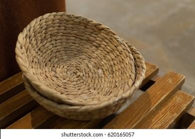 Basket alms christian church